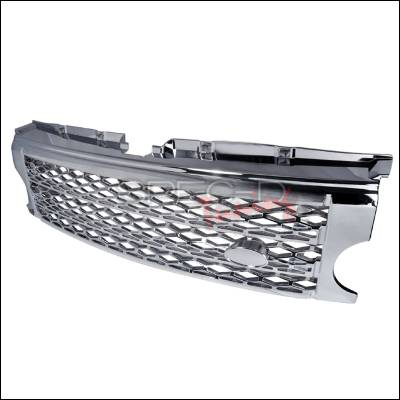 Spec-D - Land Rover Discovery Spec-D Honeycomb Style Grille - HG-DCY305C