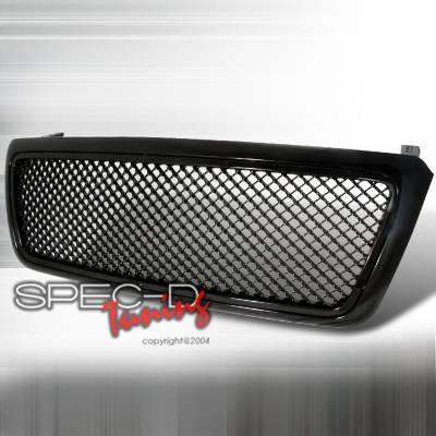 Spec-D - Ford F150 Spec-D Black Grille Mesh - HG-F15004JM