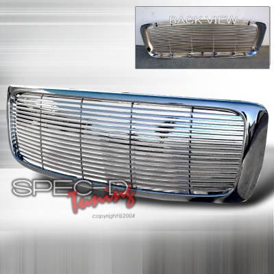 Spec-D - Dodge Ram Spec-D Chrome Grille - HG-RAM02C