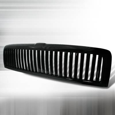 Spec-D - Dodge Ram Spec-D Vertical Grille - Black - HG-RAM94JMVT