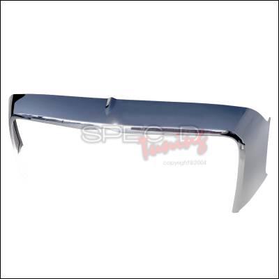 Spec-D - Chrysler 300 Spec-D Hood Mustache - Chrome - HGT-30005-JZ