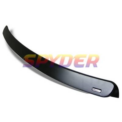 Spyder Auto - BMW 3 Series 4DR Spyder Rear Roof Spoiler - FRP - RFS-BE464D-AC