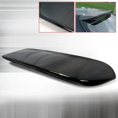 Spec-D - Honda Civic HB Spec-D Carbon Fiber Spoon Spoiler - SPL-CV963CF