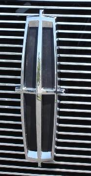 T-Rex - Lincoln Mark T-Rex Billet OE Logo Mounting Plate - Black Powder Coat - 19556