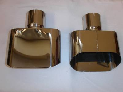 Stainless Works - Dodge Challenger Stainless Works Exhaust Tips - Mirror Polished - 786250