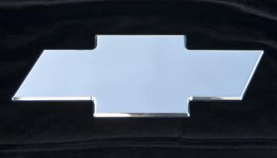 T-Rex - Chevrolet Avalanche T-Rex Billet Bowtie - Rear - Plain - Polished - 19054