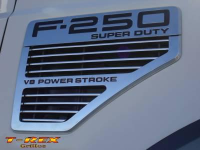 T-Rex - Ford Superduty T-Rex Billet Side Vent Insert - 2PC - 20564