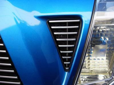 T-Rex - Toyota Tacoma T-Rex Billet Side Vent Inserts - 9 Bars - 2PC - 20896