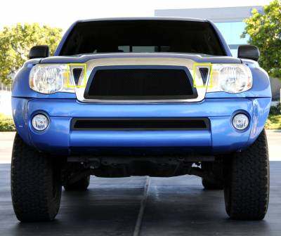 T-Rex - Toyota Tacoma T-Rex Side Vents - All Black - 2PC - 51896