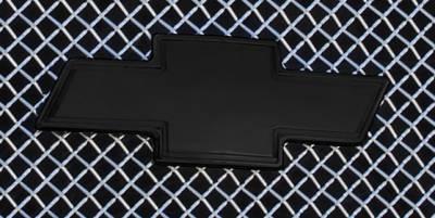 T-Rex - Chevrolet Silverado T-Rex Billet Bowtie with Border - Black - 19100B