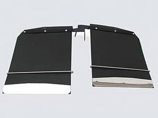 Street Scene - Dodge Ram Street Scene Mud Flap Kit Dual Rear Wheel - 18 Inch Wide - 950-09765