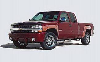 Street Scene - Chevrolet Silverado Street Scene Box Style Fender Flares - Urethane - 950-57200
