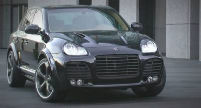 Tech Art - Porsche Cayenne Magnum Kit Turbo w/o Hitch: