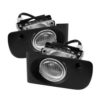 Spyder - Acura Integra Spyder OEM Fog Lights - Clear - FL-AI94-C
