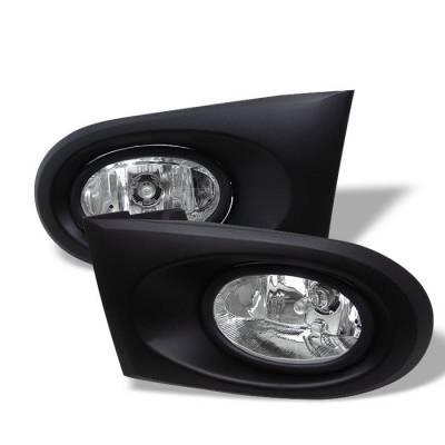 Spyder - Acura RSX Spyder OEM Fog Lights - Clear - FL-ARSX02