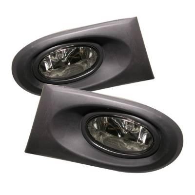 Spyder - Acura RSX Spyder OEM Fog Lights - Smoke - FL-ARSX02-SM