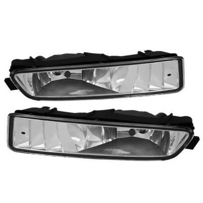 Spyder - Acura TL Spyder OEM Fog Lights - No Switch - Clear - FL-ATL02-C