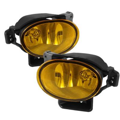 Spyder - Acura TL Spyder OEM Fog Lights - No Switch - Yellow - FL-ATL08-Y