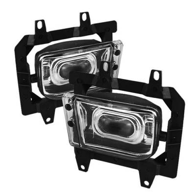 Spyder - BMW 3 Series Spyder Projector Fog Lights - No Switch - Chrome - FL-CH-BE30-E