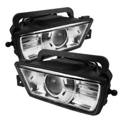 Spyder - BMW 5 Series Spyder Projector Fog Lights - No Switch - Euro - FL-CH-BE3489-E