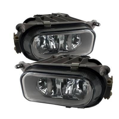 Spyder - Mercedes-Benz C Class Spyder Fog Lights - No Switch - Euro - FL-CH-MBW21096-E