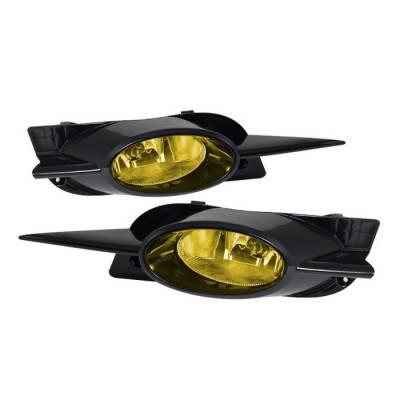 Spyder - Honda Civic 2DR Spyder OEM Fog Lights - Yellow - FL-CL-HC09-2D-Y