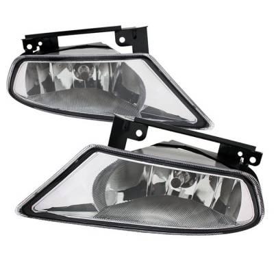 Spyder - Honda Odyssey Spyder OEM Fog Lights - Clear - FL-CL-HODY05-C