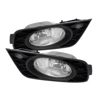 Spyder - Honda Odyssey Spyder OEM Fog Lights - Clear - FL-CL-HODY08-C