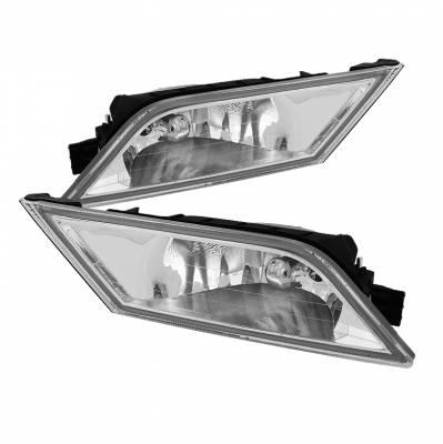 Spyder - Honda Odyssey Spyder OEM Fog Lights - Clear - FL-CL-HODY2011-C