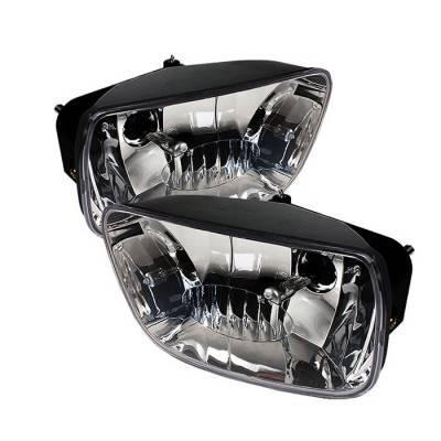 Spyder - Chevrolet Trail Blazer Spyder OEM Fog Lights - No Switch - Clear - FL-CTB02-C