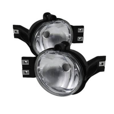 Spyder Auto - Dodge Durango Spyder OEM Fog Lights - Clear - FL-DR02-OEM-C