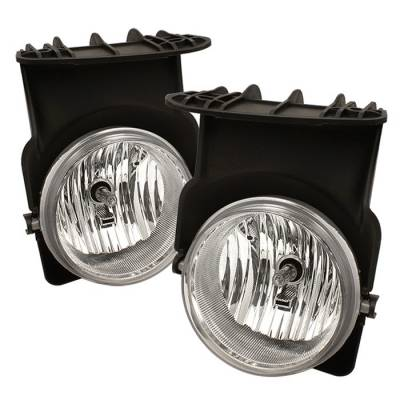 Spyder - GMC Sierra Spyder OEM Fog Lights - Clear - FL-GS03-C