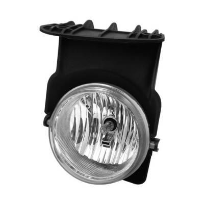 Spyder - GMC Sierra Spyder OEM Fog Lights - No Switch - Left - FL-GS03-L