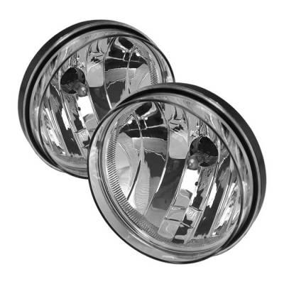 Spyder - GMC Sierra Spyder OEM Fog Lights - No Switch - Clear - FL-GS07-C