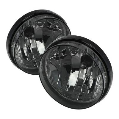 Spyder - GMC Sierra Spyder OEM Fog Lights - No Switch - Smoke - FL-GS07-SM