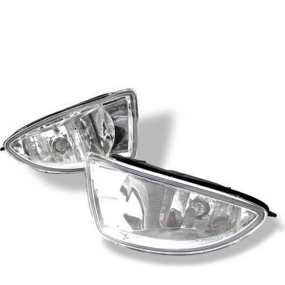 Spyder - Honda Civic 2DR & 4DR Spyder OEM Fog Lights - Clear - FL-HC04