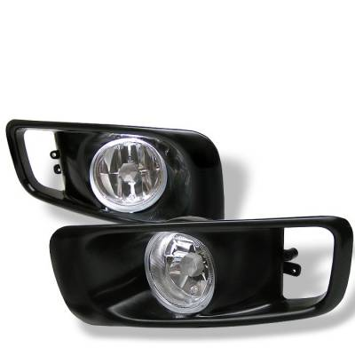 Spyder - Honda Civic Spyder OEM Fog Lights - Clear - FL-HC99