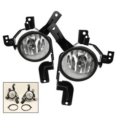 Spyder - Honda CRV Spyder OEM Fog Lights - Clear - FL-HCRV07