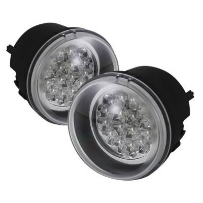 Spyder Auto - Chrysler Pacifica Spyder LED Fog Lights - Yellow - FL-LED-DCH05-Y