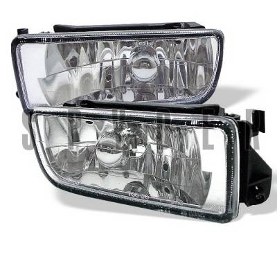 Spyder Auto - BMW 3 Series Spyder Euro Fog Lights - FL-LH-BE36-E
