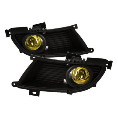 Spyder - Mitsubishi Lancer Spyder OEM Fog Lights - Yellow - FL-ML04-Y