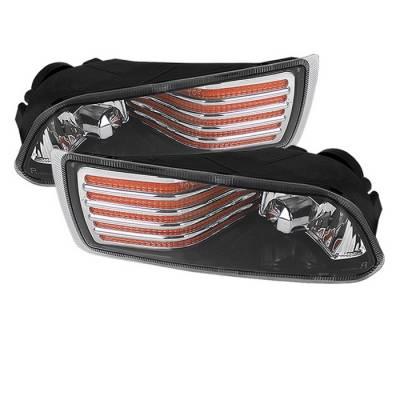 Spyder - Scion tC Spyder OEM Fog Lights - Amber - FL-STC06-AM
