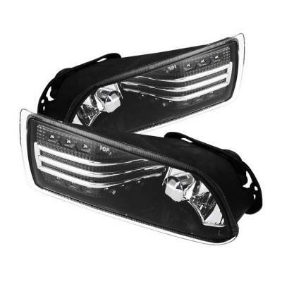 Spyder - Scion tC Spyder LED Fog Lights - Clear - FL-STC06-LED