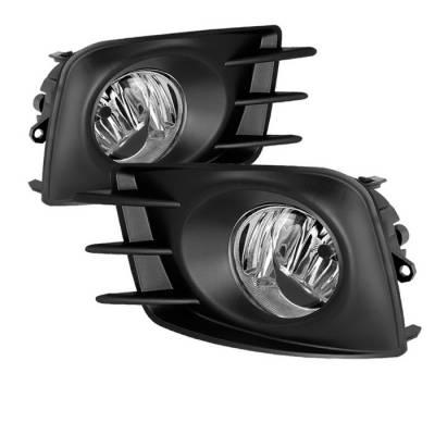 Spyder - Scion tC Spyder OEM Fog Lights - Clear - FL-STC2011-C