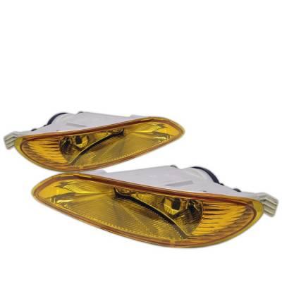 Spyder - Toyota Solara Spyder Fog Lights - Yellow - FL-TC03-Y