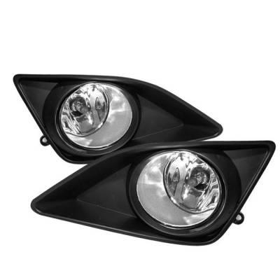 Spyder - Toyota Corolla Spyder OEM Fog Lights - Clear - FL-TCO08-C