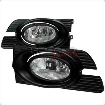 Spec-D - Honda Accord 4DR Spec-D OEM Fog Lights Clear - LF-ACD014COEM-WJ