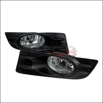 Spec-D - Honda Accord 2DR Spec-D Fog Lights - Clear - LF-ACD062OEM