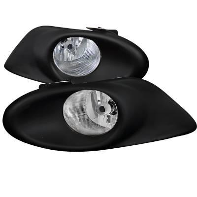 Spec-D - Honda Accord 4DR Spec-D Fog Lights - LF-ACD084OEM-DL