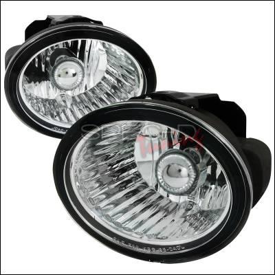 Spec-D - Nissan Altima Spec-D Fog Light Kit - Clear Lens - LF-ALT02COEM-APC